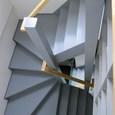 廻り階段 ダブルポスト